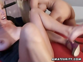 non-professional homemade some with 4 milfs and a