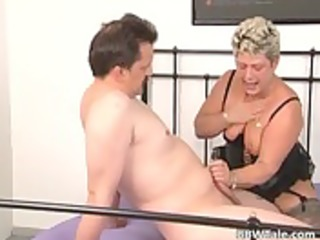 old and avid milf bonks threesome chap whilst