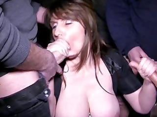 breasty dark brown d like to fuck receives into a