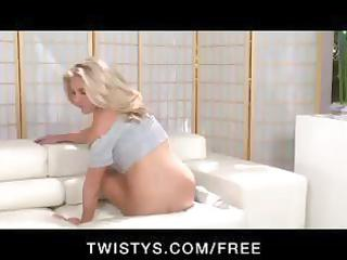 hot, sexy, blond mother i undresses and positions