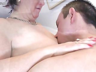 old grandmothr bonks and sucks her toyboy