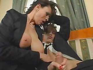 older breasty secretary sex