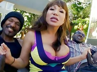 large titty d like to fuck is on double jock duty