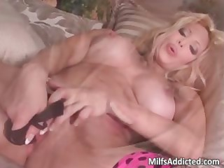 breasty mother i golden-haired angel screw herself