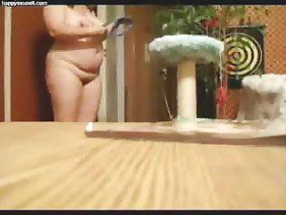hidden webcam catches my mum undressing