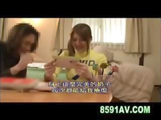 busty oriental schoolgirl nishina momoka tutors