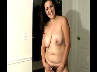 breasty older dark brown with unshaved snatch and