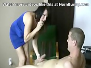 step mommy blackmails her son - hornbunny.com
