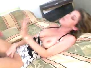 hawt dark brown mother i kayla paige sucks ramrod