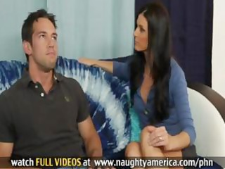 hot brunette hair mother i india summers takes