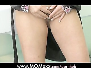 mommy bored housewife shaves her unshaved love