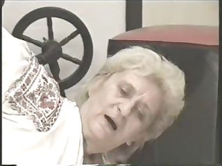 granny screwed on the floor