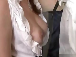 spouse indulges his wife and lets her blow and