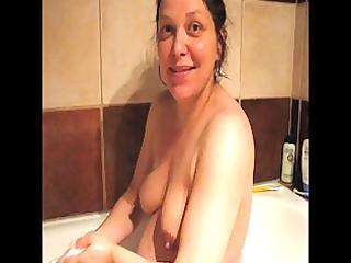 non-professional preggy hanna bare wife milk