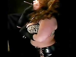 hawt aged in leather smokin solo