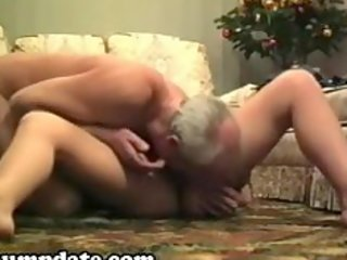 lascivious older hottie sucks and rides on dong