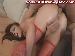 oriental older mother anal