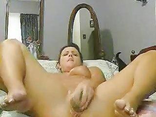 my nice mum can selftape whilst she masturbate