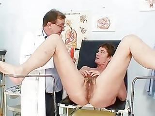 mother i bushy pussy gyno scrutiny in hospital