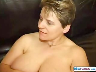 Naughty mature plumper sluts in a threesome