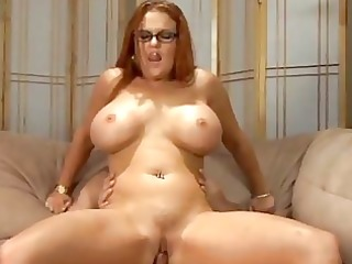 large melons redhead d like to fuck drilled
