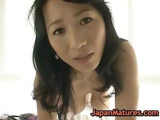 asian older natsumi kitahara stripping part10