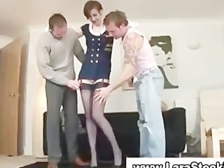 british older in nylons acquires pussy liced in