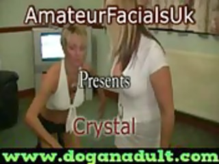 british bitch mother likes cum facials(crystal 1)