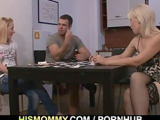 he is finds his gf and mom fucking every other
