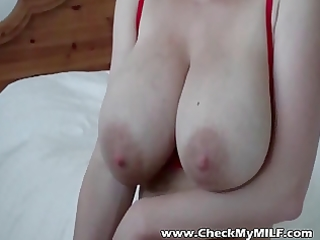 breasty mother i with sex-toy immodest talking