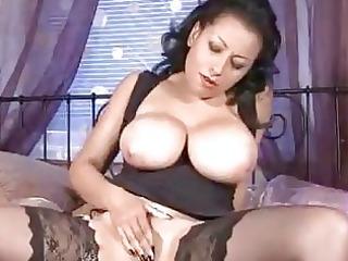 massive boobs on older in nylons jerking off slit