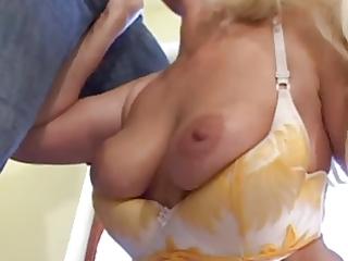golden-haired grandma is a slut