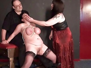 mature lesbo slavegirls outlandish torment