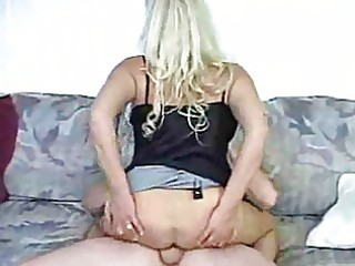 blond aged mommy acquires gangbanged