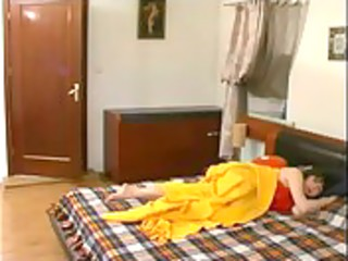 russian son bonks his sleeping mamma
