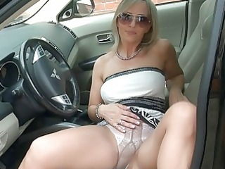 breathtaking blond d like to fuck in hose shows