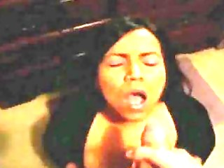 latin chick wife can cum on her face