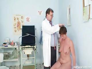 milf hirsute muff gyno scrutiny in hospital