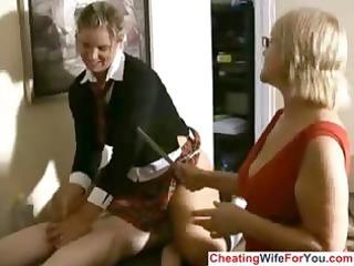 older boss can to watch handjobs
