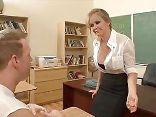 hot milf dyanna lauren disrobes to her stockings
