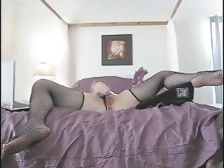 d like to fuck in fishnet nylons cums all over