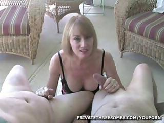 breasty blonde d like to fuck is giving chaps and