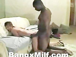 hawt aged interracial blowjob and sex