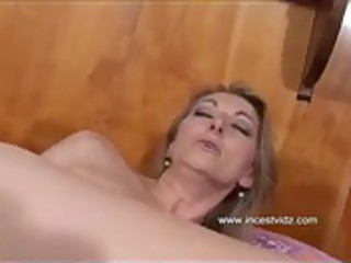 son in sofa with anal mom