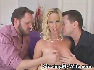 sexy wife controls her sex slaves