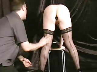 buttplugged aged wife slaves humiliation