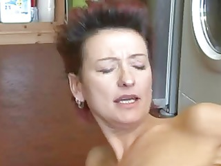 sexy mother i catches lad wanking and lets him