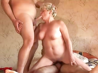 breasty lustful granny