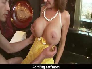Milf babe with big boobs fucking 5
