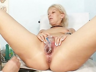 dirty granny floozy acquires her recturm examined